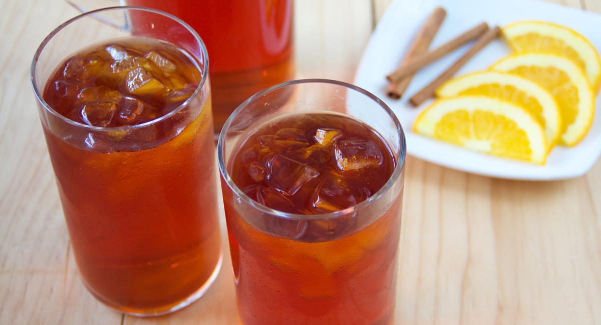 Παγωμένο τσάι με βότανα και μπαχαρικά!